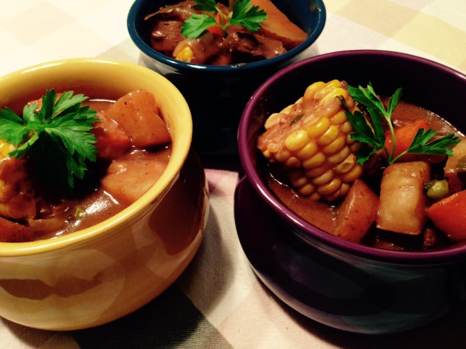 Rainy Day Hearty Stew! With Bordeaux!