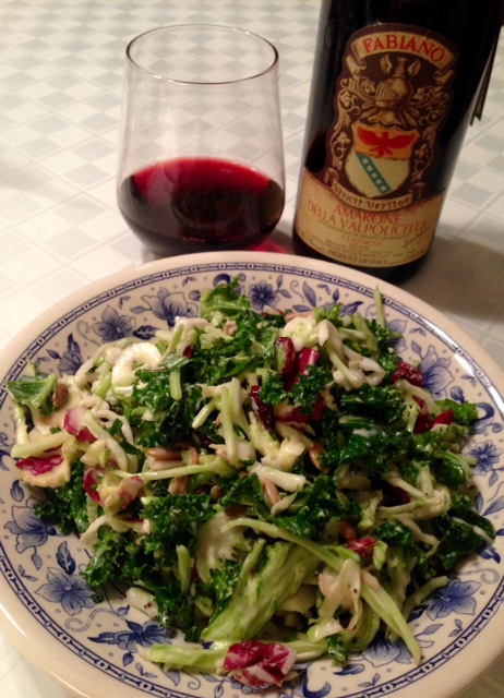 Amarone and Salad! Why Not?!